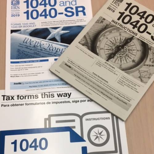 Library News - Tax Forms